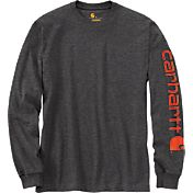 Carhartt Men's Graphic Logo Long Sleeve Shirt