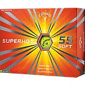 Callaway Superhot 55 Yellow Golf Balls