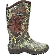 Muck Boot Men's Pursuit Stealth Mossy Oak Rubber Hunting Boots