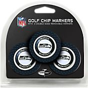 Team Golf Seattle Seahawks Poker Chips Ball Markers - 3-Pack