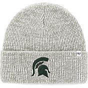 '47 Men's Michigan State Spartans Heathered Grey Brain Freeze Cuffed Knit