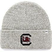 '47 Men's South Carolina Gamecocks Heathered Grey Brain Freeze Cuffed Knit