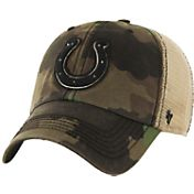 '47 Men's Indianapolis Colts Burnett Adjustable Camouflage Hat
