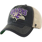 '47 Men's Baltimore Ravens Vintage Tuscaloosa Black Adjustable Hat