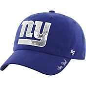 '47 Women's New York Giants Sparkle Logo Blue Adjustable Hat