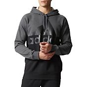 adidas Men's Exult Split Logo Graphic Hoodie