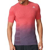 adidas Men's Ultra Primeknit DipDye Running T-Shirt