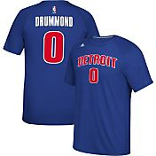 adidas Men's Detroit Pistons Andre Drummond #0 climalite Royal T-Shirt