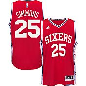 adidas Men's Philadelphia 76ers Ben Simmons #25 Alternate Red Swingman Jersey