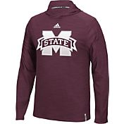 adidas Men's Mississippi State Bulldogs Maroon Sideline Training Performance Hoodie