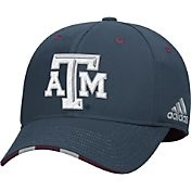 adidas Men's Texas A&M Aggies Grey Structured Flex Hat