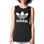 adidas Women's Originals Loose Trefoil Graphic Tank Top