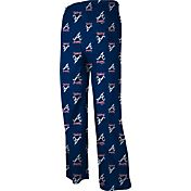 adidas Youth Atlanta Braves Navy Logo Pajama Pants