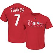 Majestic Youth Philadelphia Phillies Maikel Franco #7 Red T-Shirt