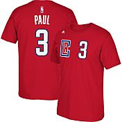 adidas Youth Los Angeles Clippers Chris Paul #3 Red Performance T-Shirt
