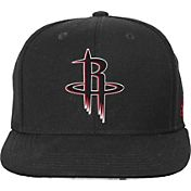adidas Youth Houston Rockets Black Chainlink Adjustable Snapback Hat