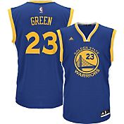 adidas Youth Golden State Warriors Draymond Green #23 Road Royal Replica Jersey