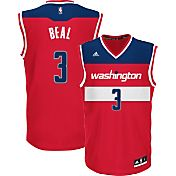 adidas Youth Washington Wizards Bradley Beal #3 Road Red Replica Jersey