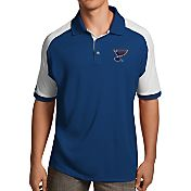 Antigua Men's St. Louis Blues Royal/White Century Polo