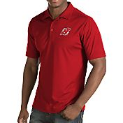 Antigua Men's New Jersey Devils Inspire Red Polo