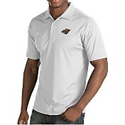Antigua Men's Minnesota Wild Inspire White Polo