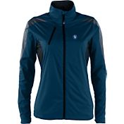 Antigua Women's San Diego Padres Full-Zip Navy Discover Jacket