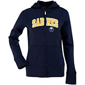 Antigua Women's Buffalo Sabres Navy Signature Full-Zip Fleece Hoodie