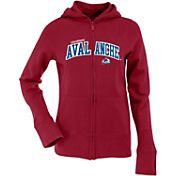 Antigua Women's Colorado Avalanche Burgundy Signature Full-Zip Fleece Hoodie