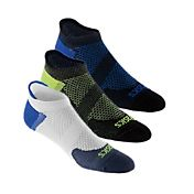 ASICS Men's Lightweight No Show Athletic Socks 3 Pack