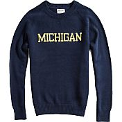 Hillflint Michigan Wolverines Blue School Sweater