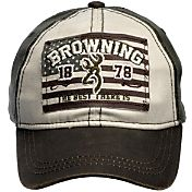 Browning Men's Buckmark Liberty Flag Hat