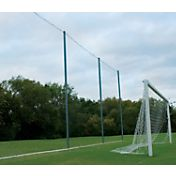 "Alumagoal All Purpose Backstop System 4"" Mesh Replacement Net"