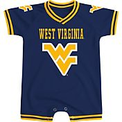 Colosseum Athletics Infant West Virginia Mountaineers Blue Super Fan II Onesie