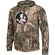 Colosseum Athletics Men's Florida State Seminoles Camo Breech Pullover Hoodie