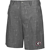 Chiliwear Men's Georgia Bulldogs Grey Match Play Short