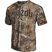 Colosseum Athletics Men's Missouri Tigers Camo Brow Tine T-Shirt