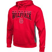 Colosseum Athletics Men's NC State Wolfpack Red Defend Pullover Fleece Hoodie