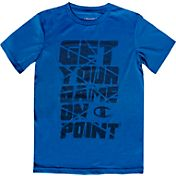 Champion Boys' Get Your Game On Point Graphic T-Shirt