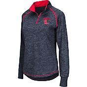 Colosseum Athletics Women's Ole Miss Rebels Blue Bikram Quarter-Zip