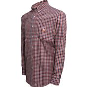 Campus Specialties Men's Virginia Cavaliers Multi-Checkered Woven Long Sleeve Shirt