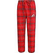 Concepts Sport Men's Utah Utes Crimson/Black Ultimate Plaid Sleep Pants