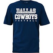 Dallas Cowboys Merchandising Men's Practice Navy T-Shirt