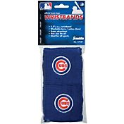 "Franklin Chicago Cubs Royal 2.5"" Wristbands"