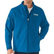G-III Men's Detroit Lions Fullback Full-Zip Blue Jacket