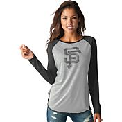 Touch by Alyssa Milano Women's San Francisco Giants Grey/BlackLong Sleeve Shirt