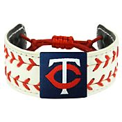 Minnesota Twins Classic Two Seamer Baseball Bracelet