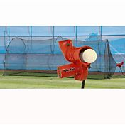 "Heater PowerAlley 11"" Softball Pitching Machine & PowerAlley 22' Batting Cage"