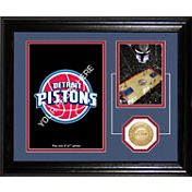 The Highland Mint Detroit Pistons Desktop Photo Mint
