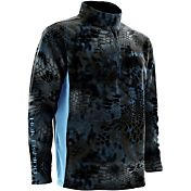 Huk Men's Kryptek Quarter-Zip Fleece Pullover