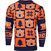 Klew Men's Auburn Tigers Blue Ugly Sweater